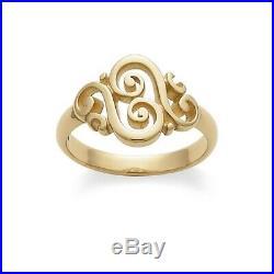 14K Yellow Gold James Avery'Spanish Swirl' Ring Size 6
