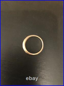 JAMES AVERY 18K Yellow Gold Channel set Diamond Debra Band Ring Size 6