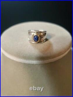 JAMES AVERY Christina Starburst Ring 18K Gold & Sterling Silver Sz 6.5 RETIRED