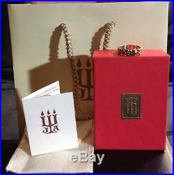 JAMES AVERY RARE 14 KARAT GOLD HEARTS AND FLOWERS RING/BAND SIZE 5 1/2