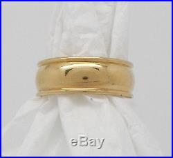 James Avery Regal Wedding Band Ring 14k Yellow Gold Authentic & Original