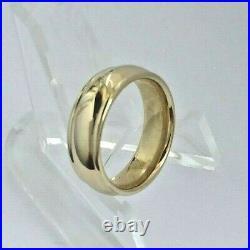 James Avery 14K Gold Eternal Band Wedding Comfort Ring Size 5.5