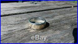 James Avery 14K Gold & Silver Hebrew My Beloved Is Mine Men's Wedding Ring