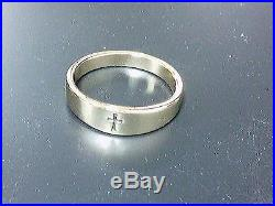 James Avery 14K Gold Small Crosslet Ring 8.25