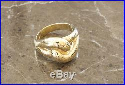 James Avery 14K Yellow Gold Cadena Ring Size 6
