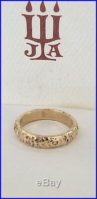 James Avery 14K Yellow Gold Forever Always Band Ring Size 6 1/2