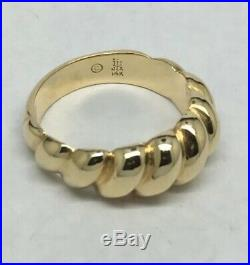 James Avery 14K Yellow Gold Multi Dome Ring Size 7