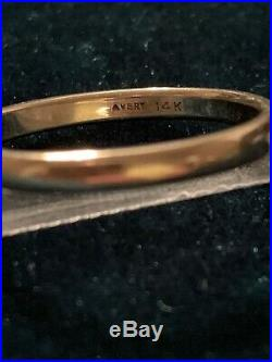 James Avery 14K Yellow Gold Ring Size 8.25