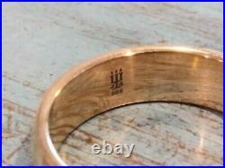 James Avery 14k GOLD Athena Band Ring size 10