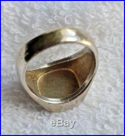 James Avery 14k Gold, Sterling Silver Ring Retired used investment Jewelry 11.5