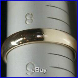 James Avery 14k Yellow Gold Forever Band Ring Size 8.5