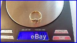 James Avery 14k Yellow Gold Spanish Swirl Ring Size 6.25 FREE SHIPPING