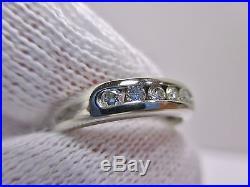 James Avery 18K Debra Ring, White Gold withDiamonds Size 5-1/2 -No Reserve