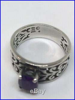 James Avery Adoree Amethyst Ring Original Box and Pouch Included (retail $230)