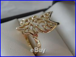 James Avery Dove Ring 14k Gold Size 7 1/2