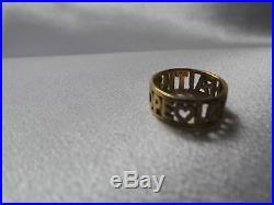 James Avery Faith, Hope & Love Ring 14Kt