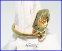 James Avery Flower Ring 14k Yellow Gold Sz. 6.25 Authentic & Extremely Rare