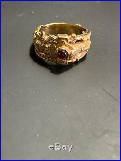 James Avery Gold Martin Luther Passion Christ Ring