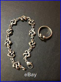 James Avery Heart Knot Bracelet ONLY ring not available