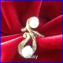 James Avery Jewelry, 14K Gold, Dos Perlas Ring Size 8