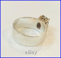 James Avery Julietta Ring with Amethyst in 14k Gold & Sterling Silver size 7