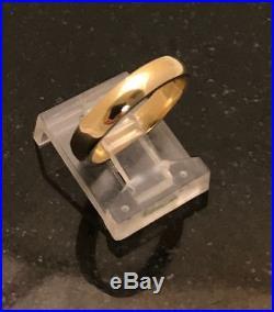 James Avery Narrow Athena Ring Sz 6 14K Yellow Gold. 585