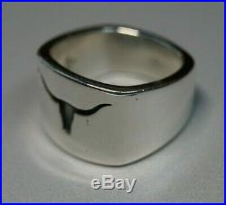 James Avery RETIRED Longhorn Ring Size 9