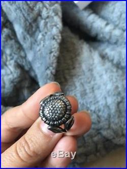 James Avery RETIRED Sunflower Ring