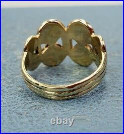 James Avery Retired 14k Mycenaean Butterfly Ring Sz5