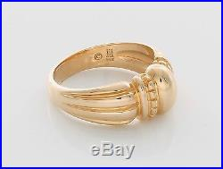 James Avery Retired 14k Thatch Domed Ring