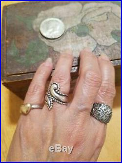 James Avery Retired Beaded Paisley Ring NO RESERVE