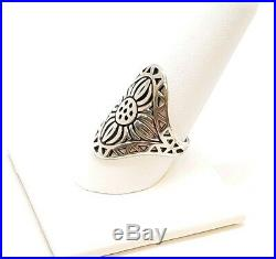 James Avery Retired Flor Del Sol Ring. 925 Preowned Size 10