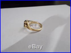 James Avery Retired Garnet Ring 14K Gold