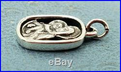 James Avery Retired Jesus & Mary Charm Tougher Version To Find MintUncut Ring