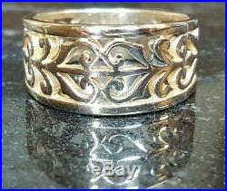 James Avery SOLID 14k OPEN ADORNED RING NO RESERVE! Perfect for Valentines Day