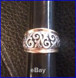 James Avery Scrolled Fleur-de-lis Ring