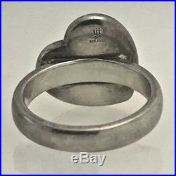 James Avery Silver and Gold Heart Ring