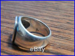 James Avery Sterling Silver 925 Fleuree Cross Mens Ring Sz 9