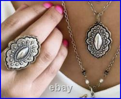 James Avery Sterling Silver & Bronze Marrakesh Ring Sz 8.5-$140 Retail