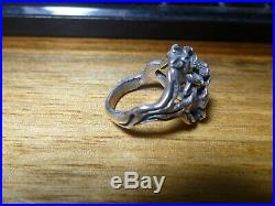 James Avery Sterling Silver Dogwood Flower Ring Size 6.5