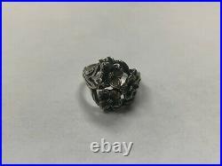 James Avery Sterling Silver Dogwood Flower Ring Sz 8 JA54