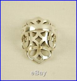 James Avery Sterling Silver LONG SCROLL Ring 9.8g Size 9.5 Retired Rare