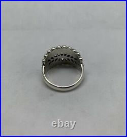 James Avery Sterling Silver Mimosa Leaf Ring Size 8 Retired