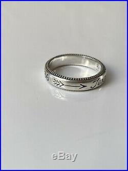 James Avery Sterling Silver Pair Lot Texas My Texas And Texas Rings Size 6