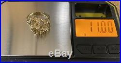James Avery VERY Rare 14k Gold DOGW00D FLOWER Ring