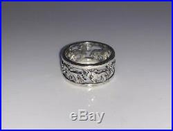 James Avery Vintage Retired Unicorn Ring Sterling Silver Size 7.5 HTF RARE