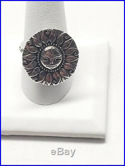 James Avery You Are My Sunshine Sun Ring. Retired. Rare. 925 Preowned Size 10