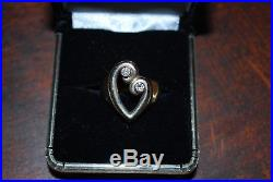 James Avery gold mothers love ring 14k and diamonds