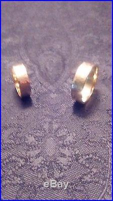 James Avery women's 14 karat yellow gold wedding ring size 8, style Amore