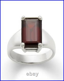 James avery Sterling Silver Garnet Bella Ring Size 7